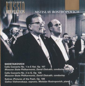Shostakovich: Cello Concertos, Satires, Op.109