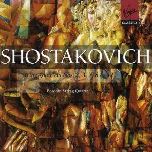 Dmitry Shostakovich: String Quartet Nos. 2,3,7,8 & 12