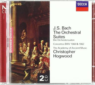 Bach - The Orchestral Suites / Rousset, AAM, Hogwood