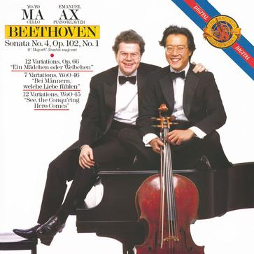 Beethoven: Sonata for Cello & Piano No. 4; Variations