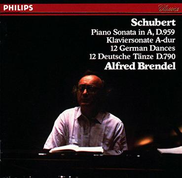 Schubert: Piano Sonata in A, D. 959; Hungarian Melody in B minor, D 817; 16 German Dances, D. 783; Allegretto in C minor, D. 915