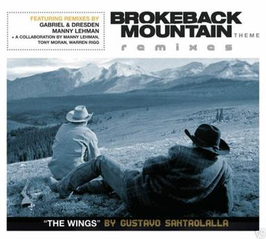 Wings - Brokeback Mountain Theme Remixes by Santaolalla, Gustavo [Music CD]