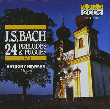 Bach - 24 Preludes and Fugues Vol. 2