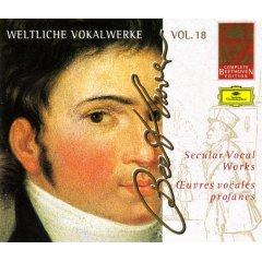 Beethoven Edition, Vol.18 - Secular Vocal Works