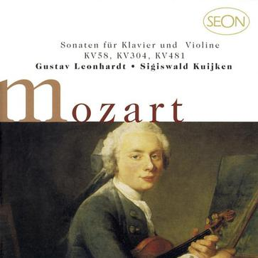 Mozart: Sonatas for Piano and Violin, K. 58, K. 304, K. 481