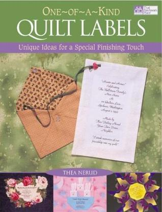 One-Of-A-Kind Quilt Labels