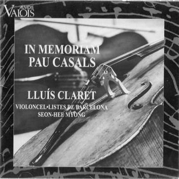 In Memoriam Pau Pablo Casals - Transcriptions for Cello Ensemble