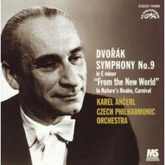 "Dvorak : Symphony 9 ""New World"" ,Overtures"