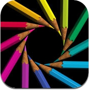 DrawCast - draw, chat, paint, sketch, collaborate and share art, drawings and photos with friends (iPhone / iPad)