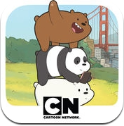 Free Fur All – We Bare Bears Minigame Collection (iPhone / iPad)
