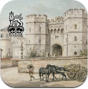 Capturing Windsor Castle: Sandby Watercolours (iPhone / iPad)