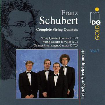 Franz Schubert Complete String Quartets Vol. 7