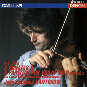 Bach: 3 Sonatas & 3 Partitas For Violin Solo