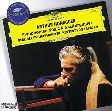 """Honegger: Symphony No. 2 for String Orchestra and Trumpet; Symphony No. 3 """"Liturgique"""" / Stravinsky: Concerto in D for String Orchestra"""