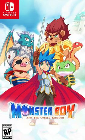 怪物男孩与被诅咒的王国 Monster Boy and the Cursed Kingdom