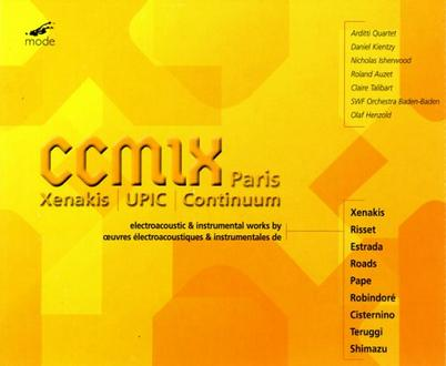 CCMIX: New Electroacoustic Music From Paris
