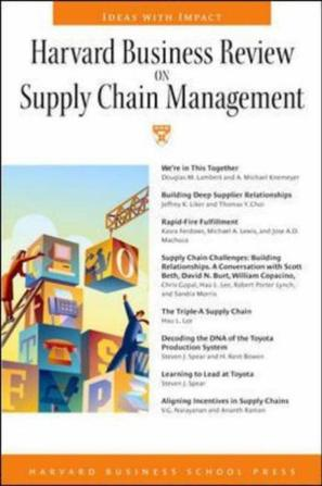 sourcing and supply chain management 4th edition handfield pdf