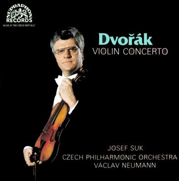 Dvorak: Violin Concerto in A Minor, Op.53. Josef Suk: Fantasy in G Minor, for Violin & Orchestra, Op.24 - Josef Suk/Vaclav Neumann, Czech Philharmonic Orchestra