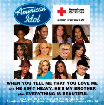 When You Tell Me That You Love Me (American Red Cross Disaster Relief single)