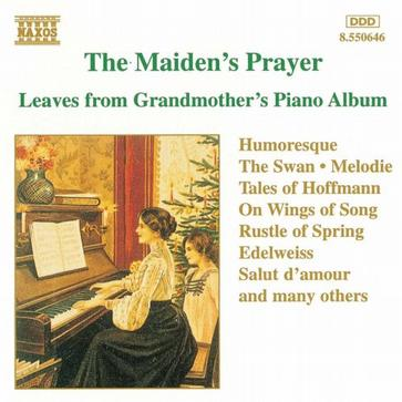 The Maiden's Prayer: Leaves from Grandmother's Piano Album
