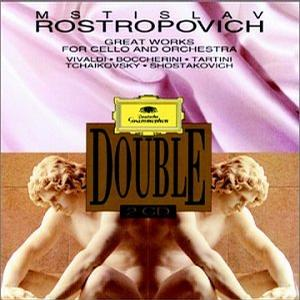 Mstislav Rostropovich plays Great Works for Cello and Orchestra