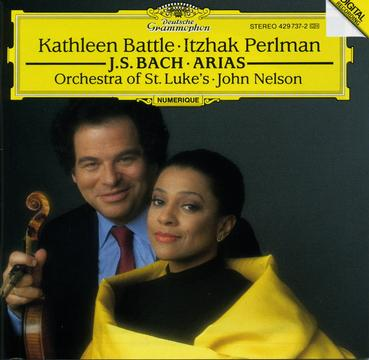 J.S.Bach:Arias for Soprano and Violin