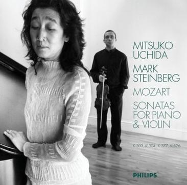 Mozart: Sonatas for Piano & Violin in F Major, K. 377; C Major, K. 303; E Minor, K. 304; A Major, K. 526