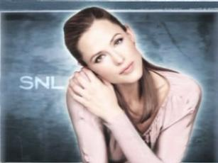 """Saturday Night Live"" Jennifer Garner/Beck"