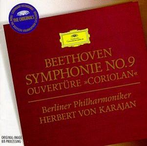 "进口CD:Beethoven Symphonie No.9;Ouvertüre""Coriolan""(4474012A)"