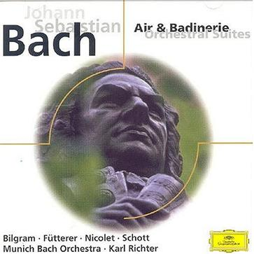 Johann Sebastian Bach: Air & Badinerie - Orchestral Suites No. 2 BWV  1067, No. 3 BWV 1068, No. 4 BWV 1069; Concerto for Harpsichord in F minor BWV 1056; Concerto for 4 Harpsichords in A minor BWV 1065