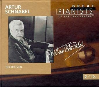 Great Pianists of the 20th Century schnabel