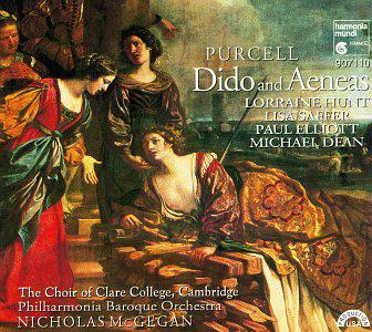 """Purcell: Dido and Aeneas; Music for """"The Gordian Knot Unty'd"""""""