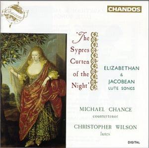 The Sypres Curten of the Night: Elizabethan & Jacobean Lute Songs