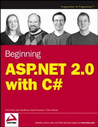 ASP.NET 2.0 与 C# 入门教程 Beginning ASP.NET 2.0 with C#