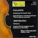 "Nicol Paganini: Sonata for the Grand Viola & Guitar / Introduction & Variations on ""Nel cor pi non mi sento"" / Ludwig van Beethoven: Notturno / Violin Sonata No. 9, Op. 47 ""Kreutzer"""