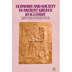 Economy and Society in Ancient Greece