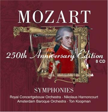 Mozart: Symphonies (8 CD-250th Anniversary Edition)