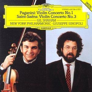 Paganini: Concerto for Violin and Orchestra No.1/Saint-Saëns: Concerto for Violin and Orchestra No.3