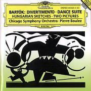 Béla Bartók: Divertimento / Dance Suite / Hungarian Sketches / Two Pictures - Chicago Symphony Orchestra / Pierre Boulez