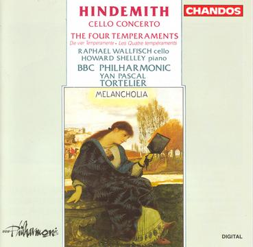 "Paul Hindemith: Concerto for Cello & Orchestra (1940) / Theme & Four Variations ""The Four Temperaments"" (1940)"