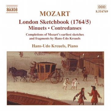 Mozart: London Sketchbook (1764/5)