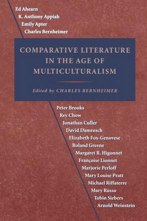 Comparative Literature in the Age of Multiculturalism (Parallax
