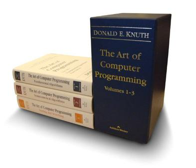 The Art of Computer Programming, Volumes 1-3 Boxed Set