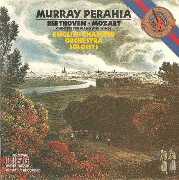 Mozart: Quintet for Piano & Winds K.452 / Beethoven: Quintet for Piano & Winds Op.16