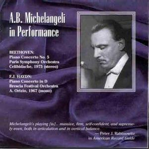 Michelangeli in Performance