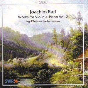 Raff. Works for Violin & Piano Vol. 2