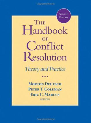 The Handbook of Conflict Resolution