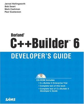 Borland C++ Builder 6 Developer's Guide