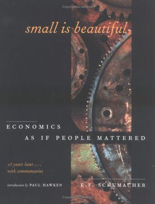 Small Is Beautiful, 25th Anniversary Edition