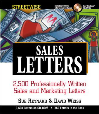 Streetwise Sales Letters winth